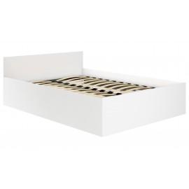 Łóżko 140x200 CLP ze stelażem podnoszonym Białe