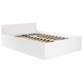 Łóżko 180x200 CLP ze stelażem podnoszonym Białe