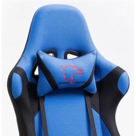 Fotel Gamingowy Materiałowy F4G FG38/F Niebieski