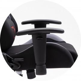 Fotel Gamingowy Materiałowy F4G FG38/F Grafitowy