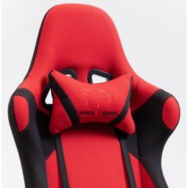 Fotel Gamingowy Materiałowy F4G FG38/F Czerwony