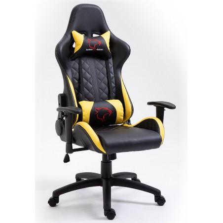 Fotel Gamingowy F4G FG40 HQ Żółty