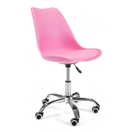 Fotel do biurka dziecięcy FD005 Różowy