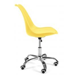 Fotel do biurka dziecięcy FD005 Żółty