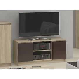 SZAFKA RTV K120 2D 1P SONOMA / WENGE