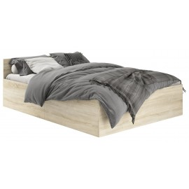 Łóżko 180x200 CLP ze stelażem podnoszonym Dąb Sonoma