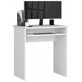 Małe biurko białe do niewielkich pomieszczeń. STAR