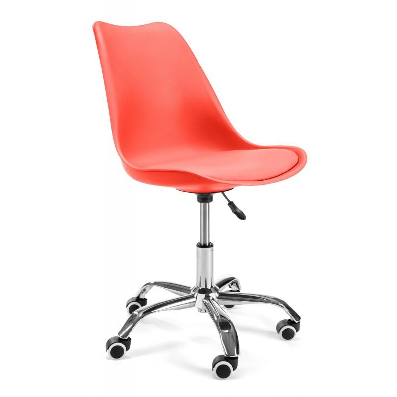 Fotel do biurka dziecięcy FD005 Czerwony