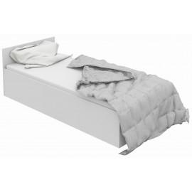 Łóżko 90x200 CLP ze stelażem podnoszonym Białe