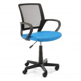 Fotel dziecięcy FD-6 materiałowy - Niebieski
