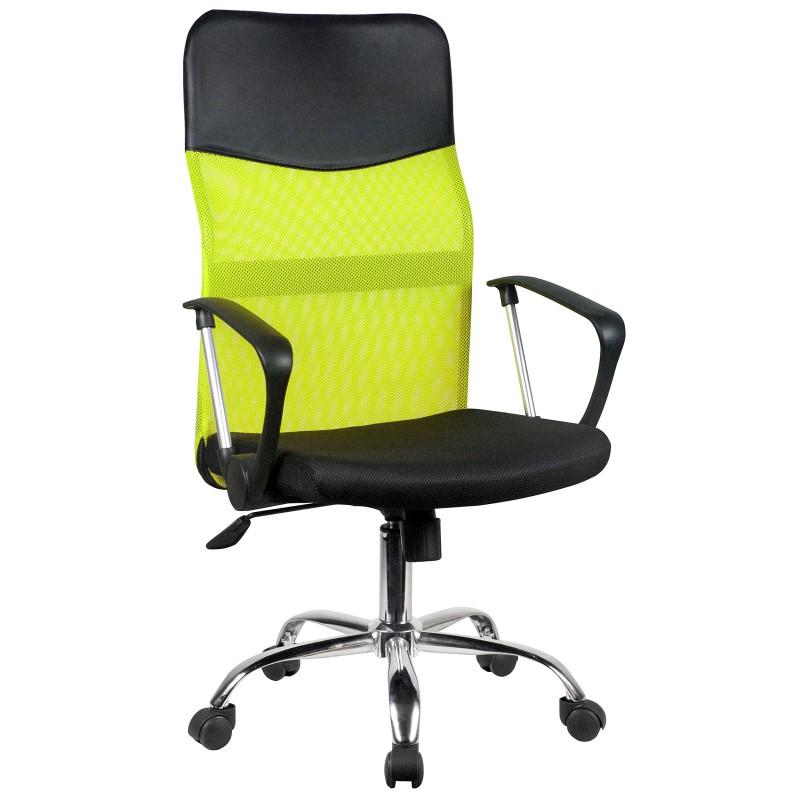 Siatkowy fotel biurowy OCF-7 - Zielony