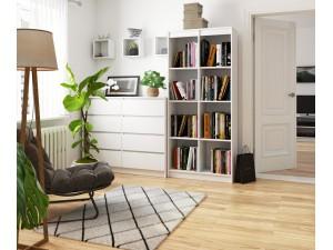 Regały pokojowe półkowe na książki, segregatory