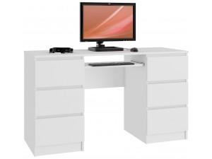 Biurka komputerowe z szufladami z płyty laminowanej