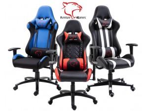 Fotele gamingowe z poduszkami - Fotele dla graczy