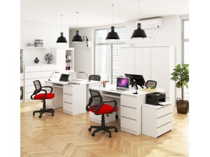 Tanie i nowoczesne biurka młodzieżowe z szufladami