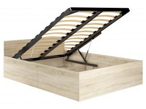 Łóżka z pojemnikiem na pościel - podnoszony stelaż